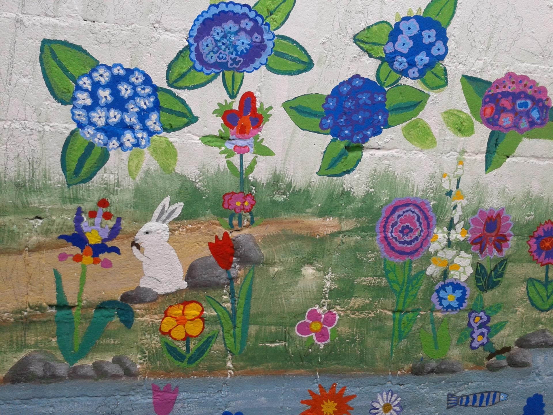 Haut Projets d'école Fresques murales TG97