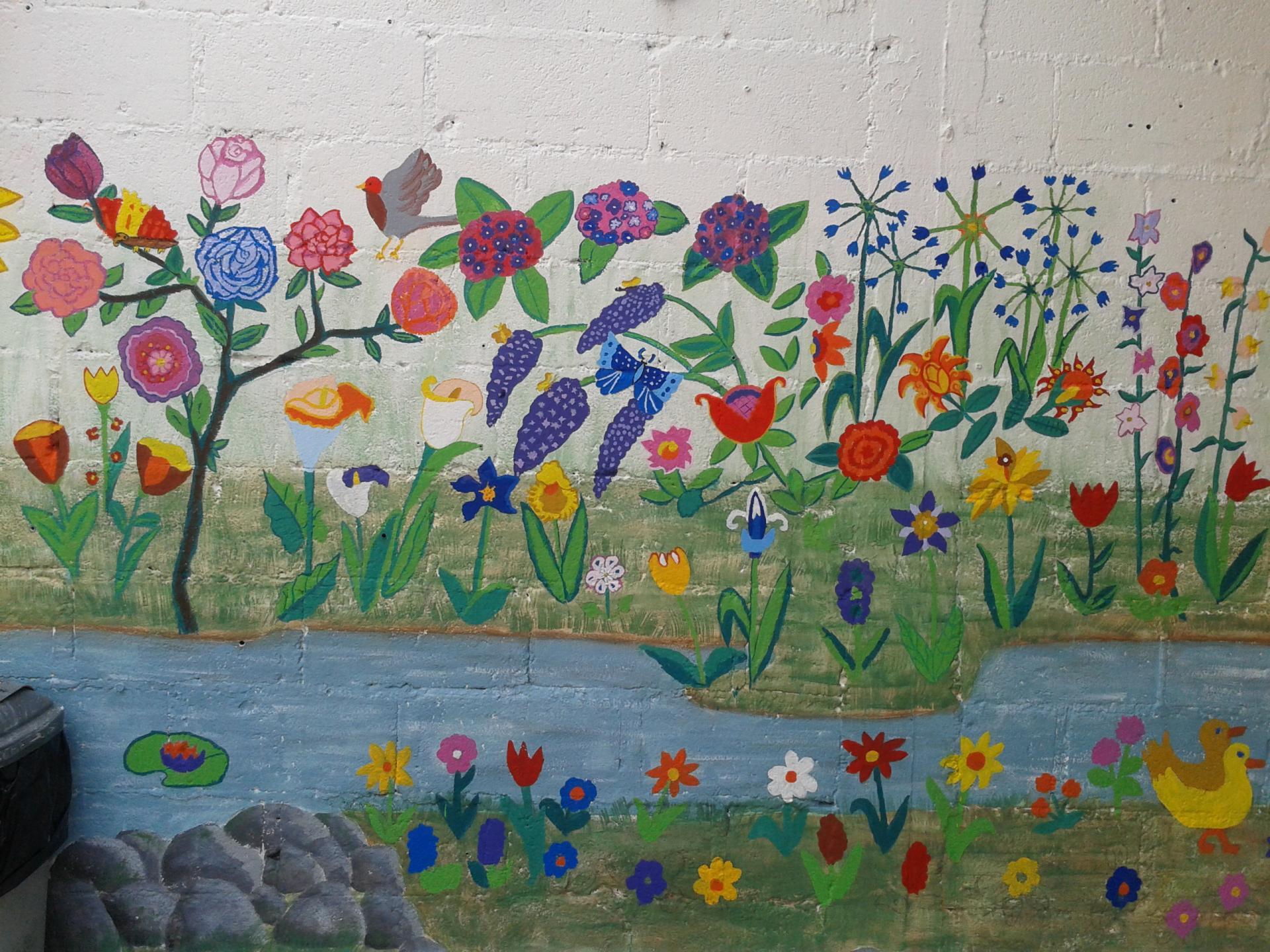 Flambant neuf Projets d'école Fresques murales JG74